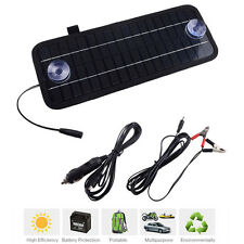 12V 4.5W Portable Solar Panel Power Battery Charger Backup For Car Boat Outdoor