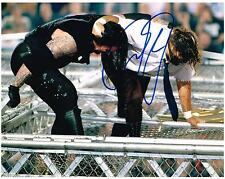 WWE WWF MICK FOLEY MANKIND AUTOGRAPHED 8X10 PHOTO AUTOGRAPH UNDERTAKER 1998 HIAC