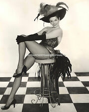 STUNNING JANE RUSSELL LEGGY IN FISHNETS 8 X 10 SEXY LEGS PHOTO A-JR5