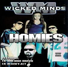 WICKED MINDS HOMIES CHINO GRANDE WRECK BABY WICKED CUETE YESKA CHICANO RAP CD
