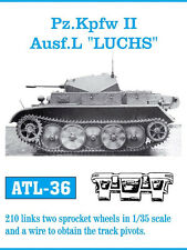 1/35 ATL36 FreeShip FRIULMODEL METAL TRACKS FOR GERMAN PANZER II L LUCHS
