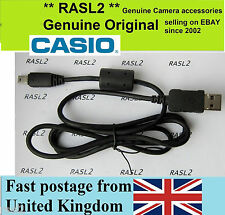Genuine Original CASIO USB cable Exilim EX-F1 EX-H20 EX-H25 EX-H30 EX-ZR800