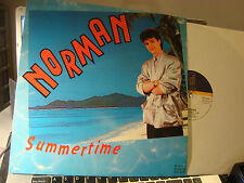 "RAR MAXI 12"". NORMAN. SUMMERTIME. ITALO DISCO. MADE IN SPAIN."