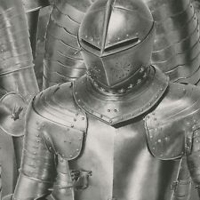 Silver Suit of Armour Wallpaper by Rasch Medieval Theme Metal Army 291100