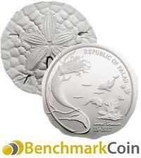 2017 Sand Dollar Silver Coin - $1 Palau