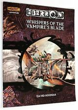 Dungeons & Dragons EBERRON WHISPERS OF THE VAMPIRE'S BLADE 2004 WOTC D&D 3.5 d20