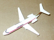 "1988 ERTL CONTINENTAL DC-9 APPROX 6"" X 5"" Mint Loose- No packaging Loose"