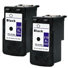 2PKs Canon PG-210XL Black Ink Cartridge For PIXMA MP240 MP250 MP460 MP490 MP499
