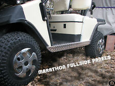 ezgo Marathon Golf Cart Diamond Plate FULLSIDE ROCKER PANELS 1979 to 94.5