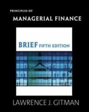 Principles of Managerial Finance, Brief 5th Edition)