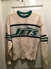 JETS 80s 90's RARE Vintage Retro CCM KNIT Pullover SWEATER NHL Hockey