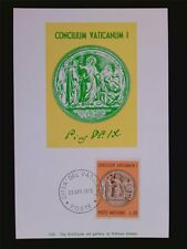Vatican MK 1970 MEDAGLIA PIO IX maximum carta carte MAXIMUM CARD MC cm c6262