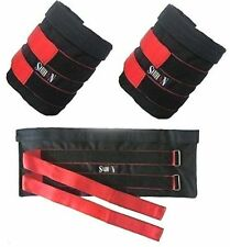 Top Gym Ankle Weights Pouch 10kg Sand Bag Adjustable Sold WITHOUT Weights