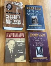 Benjamin Graham Set Of 3 Books Security Analysis; Storage & Stability & More