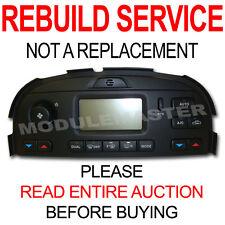 02 03 04 05 06 07 08 Jaguar S Type X Type Climate Control NO navigation REBUILD