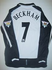 Umbro Manchester United David Beckham Centernary Jersey Shirt Long Sleeve 2001