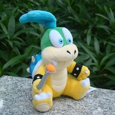 "Super Mario Bros 3 Koopalings Plush Toy Larry Koopa 6"" Bowser Baby Cuddly Doll"