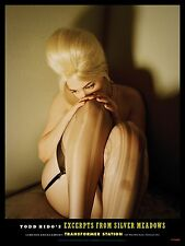 "TODD HIDO 'Beehive Woman' Silver Meadows 2013 Exhibition Poster 16"" x 12"" *NEW*"