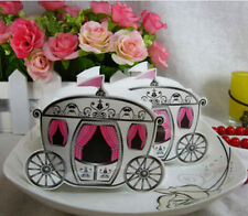 50pc Cinderella Carriage Wedding Bomboniere Candy Chocolate Gift Box Party Favor