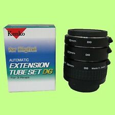 Kenko Auto Extension Tube Set DG with 3 Rings for Nikon