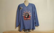 CCM New York Rangers Hockey Jersey NHL Lady Liberty Center Ice XXL Blue