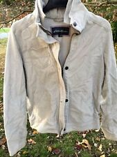 EDDIE BAUER Corduroy Jeans Jacket Coat Chino Layered Collar Womens Size Medium