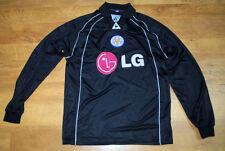 "Le Coq Sportif vintage Leicester City goalkeeper shirt (Size 30/32"")"