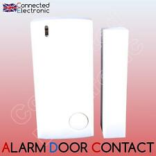 DOOR SENSOR CONTACT WINDOW DOOR WIRELESS FOR BURGLAR ALARM RFID GSM WIFI 433 MHz