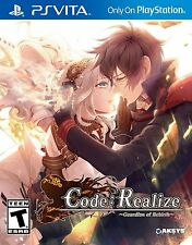 Code: Realize Guardian of Rebirth [PlayStation Vita PSV Sony Exclusive RPG] NEW