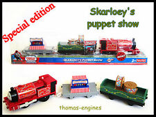 Thomas the tank engine  TRACKMASTER TRAIN Skarloey Puppet Show **new in box