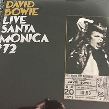 DAVID BOWIE 'LIVE SANTA MONICA '72  2 X 180 g VINYL LP BRAND NEW & SEALED