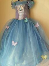 Official Disney Cinderella Blue dress movie 2015- 3/4 yrs