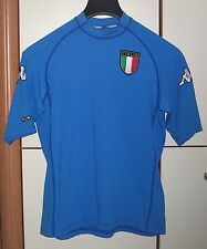 ITALY 2002 WORLD CUP HOME FOOTBALL SHIRT JERSEY MAGLIA KAPPA