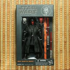 Disney Hasbro Star Wars The Black Series 6 inch #02 Darth Maul AUTHENTIC