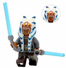 Ahsoka Tano Star Wars Minifigure Minifig Building Toy Compatibly to Lego
