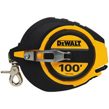 "DEWALT 3/8"" x 100' Steel Measuring Tape DWHT34036 New"