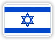 """Autocollant Drapeau Israël 2,8 x4 """"Voiture Pare-chocs Autocollant Réfrigérateur TABLETTE PORTE vélo camion Livre"""