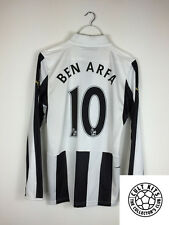 Newcastle United BEN ARFA #10 12/13 L/S Home Football Shirt (S) Soccer Jersey