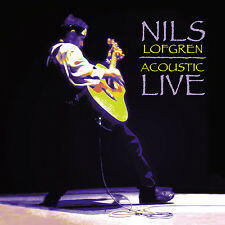 NILS LOFGREN New Sealed 2017 LIVE ACOUSTIC CONCERT 2 VINYL RECORD SET