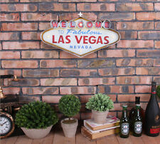 Vintage LED Light  Metal Signs Bar Welcome to Las Vegas Pub Cafe Wall Decor