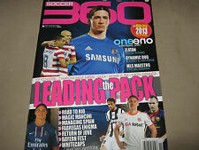 SOCCER 360 Issue 42 2013 Roberto Mancini Paul Gascoigne Manchester United POSTER