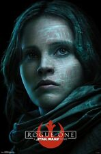 STAR WARS - ROGUE ONE - JYN POSTER - 22x34 MOVIE 14641