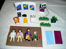 Lot of Playmobil Medical Doctors Office Figures and Accessories