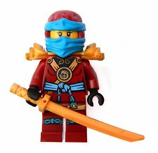 LEGO Nya minifigure red ninja girl ref. Ninjago 70751 70738 GENUINE Lego NEW