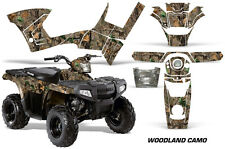 Polaris Sportsman 90 AMR Racing Graphic Wrap Kit Quad Part ATV Decals WOODS CAMO