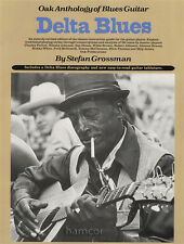 Delta Blues Oak Anthology of Blues Guitar TAB Music Book by Stefan Grossman