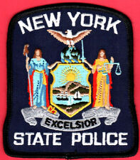 """New York State Police Shoulder Patch -- 3-7/8"""" x 4"""""""