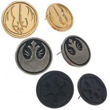 Star Wars Movie Stud Earrings Rebel Imperial Assassin 3 Pair Set