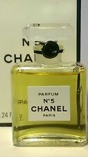 CHANEL NO5 PARFUM 7ml/0.24oz Womens Miniature Bottle Perfume Box
