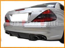 2003-2008 M-BENZ R230 SL55 AMG Carbon Fiber Replacement Rear Bumper Diffuser Lip